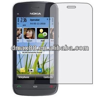 High definition screen protectives for c5-03 oem/odm(High Clear)