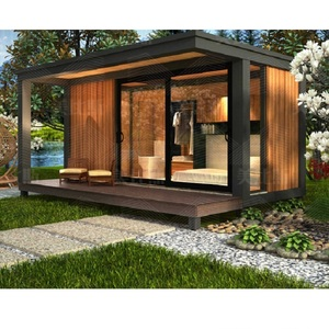 MB1A 17.5 SQM portable prefab house container Prefabricated One Bedroom Modular Homes