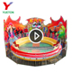High Quality Family Fairground Amusement Theme Park Crazy Rotating Bounce Music Game Play Rides Disco Tagada
