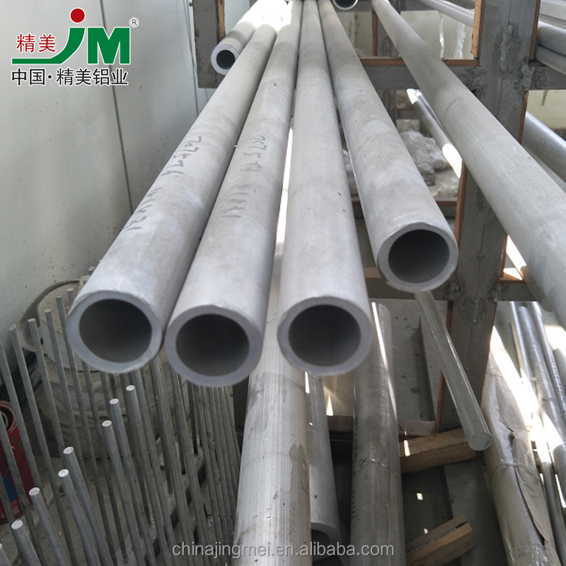 JINGMEI Customized strict quality control 7075 t73511 t6 seamless aluminium alloy tube/pipe