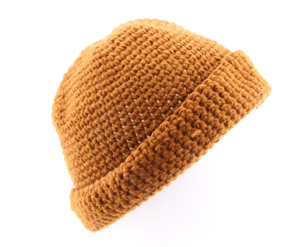 2015 Winter Gorras Solid 4 Color Red Blue Yellow Green Crocheted Fall Mens Skullies Knitted Bonnet Women Wool Orange Beanie