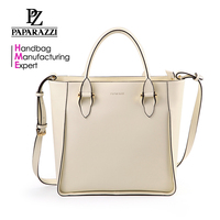 5213- New arrival design elegant woman fashion 2017 beige tote bag