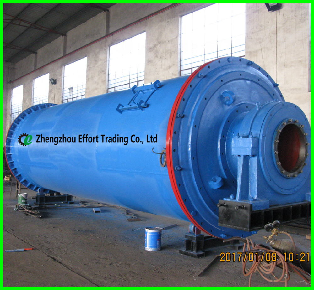 Professional design mineral ball mill with 1-30 TPH, Henan Ball Mill in Zhengzhou City
