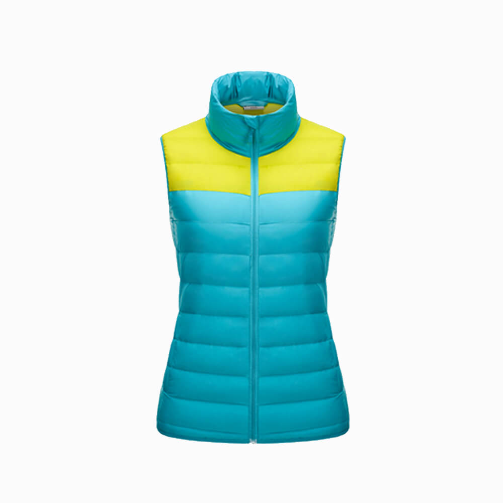 China Wholesale Women Winter Sleeveless Warm Down Vest