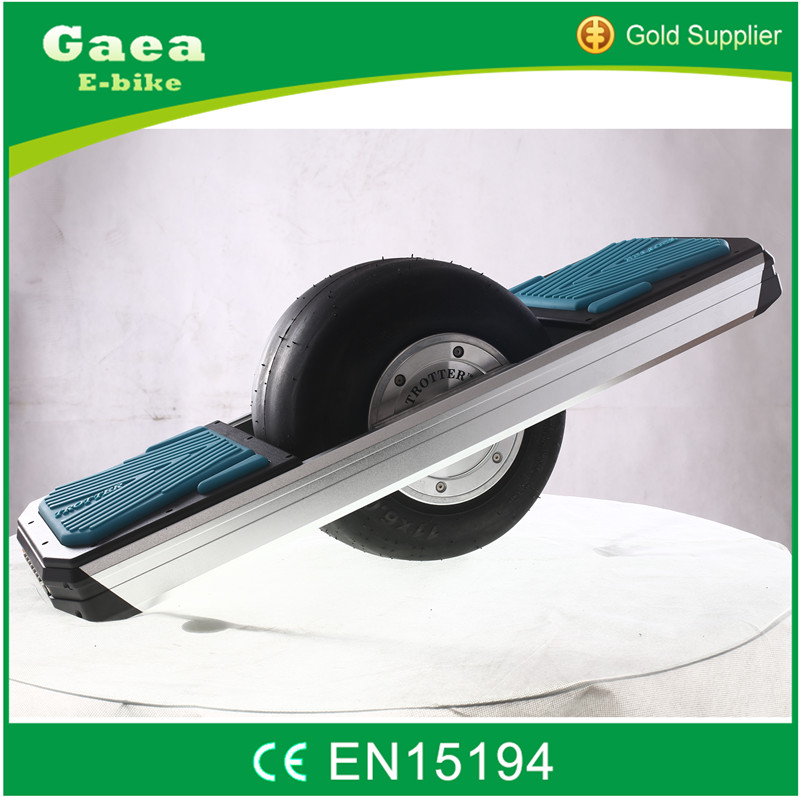 Gaea fashion city coco e-scooter one wheel balance skateboard electric bicycle