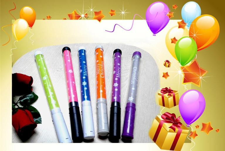 Led Battery Operated Glow Sticks For Concert And Party