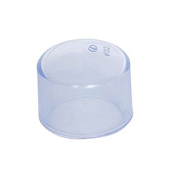Transparent UPVC PVC Pipe Fitting Clear End Cap