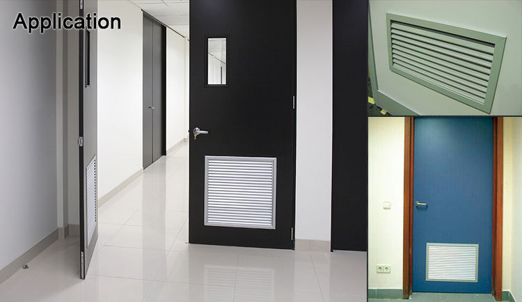 Ventilation adjustable air vent air grille bathroom door ventilation for interior doors & Ventilation Adjustable Air Vent Air Grille Bathroom Door Ventilation ...
