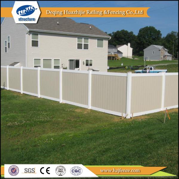 Pvc privacy recinto di design da giardino recinzione - Recinzione giardino privacy ...