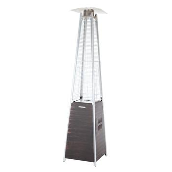 Garden Radiance Dancing Flames Pyramid Outdoor Patio Heater With