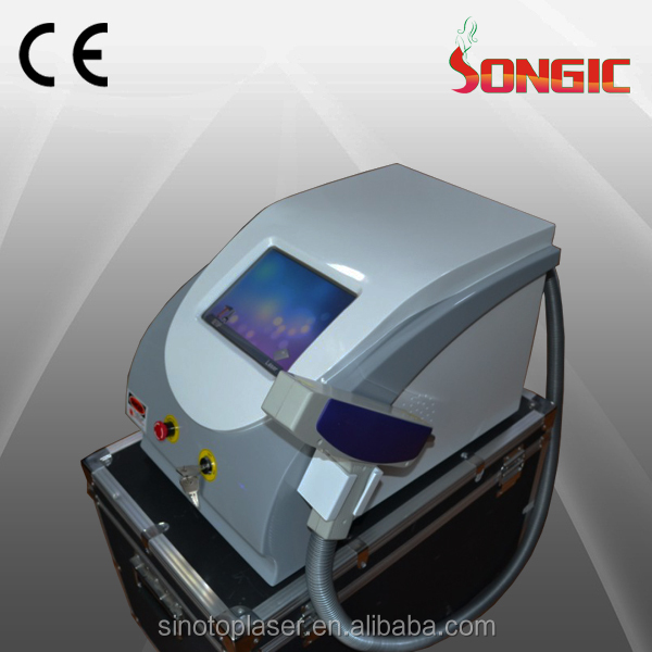 Newyear Promotion! portable 1064nm 532nm 1320nm nd yag laser/q switch na yag laser /q-switch nd:yag laser tattoo removal device