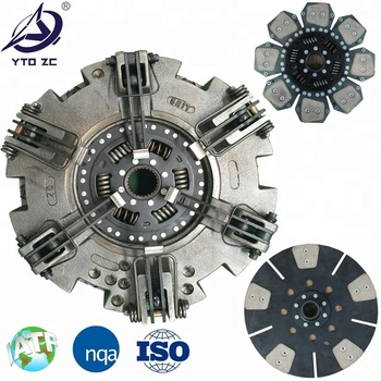 Large Stock  Casting Friction Housing Plate Friction Material  Manufacturer Parts Cover Disc Clutch Assy
