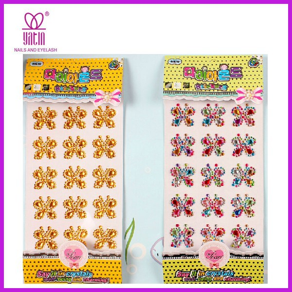 crystal cell phone stickers,high quality crystal bling stickers,DIY rhinestone diamond sticker