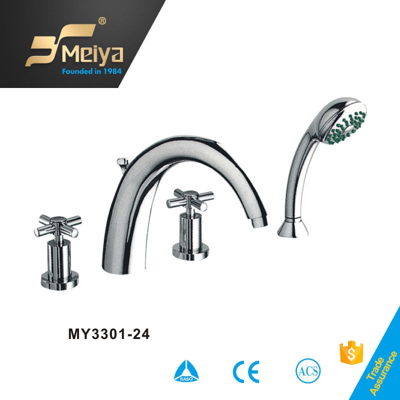 China MEIYA bathroom 4 hole wide-spread lavatory faucet