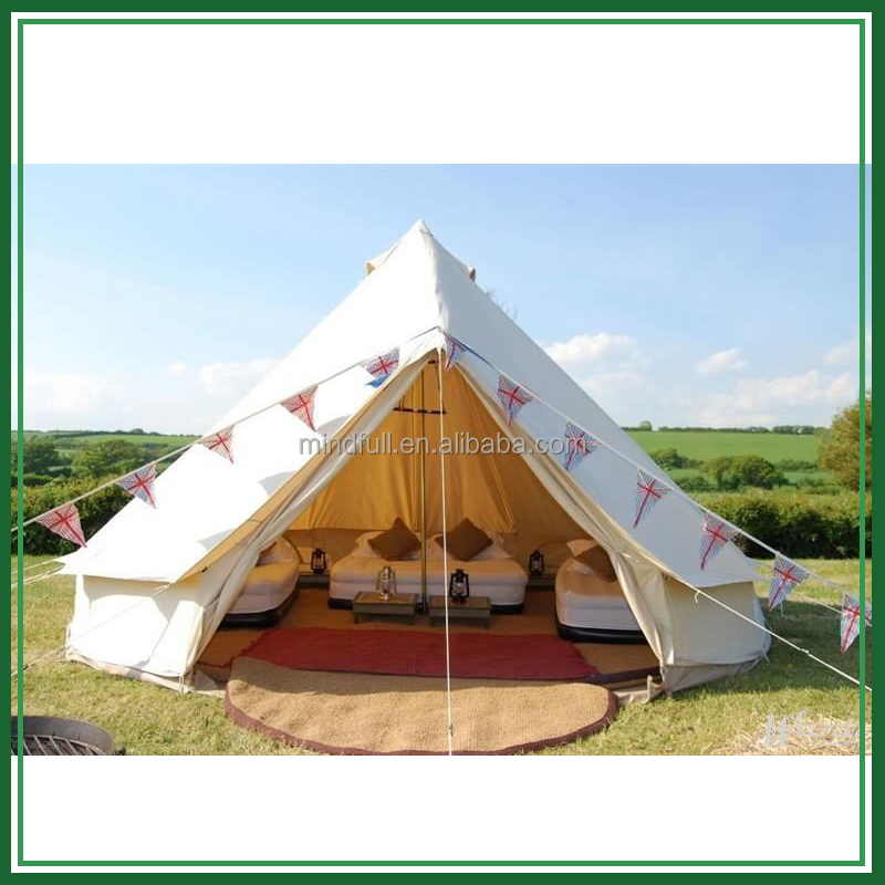 5m outdoor canvas bell tent for sale