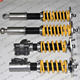 32 way Adj Coilover Shock Absorber For Ni S14 240SX 200SX Silvia Adj. Height Coilover Coil Spring Strut RPF