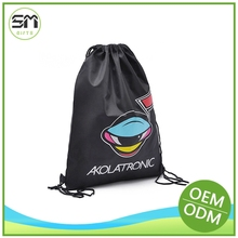 Custom made newly design drawstring back pack promotional
