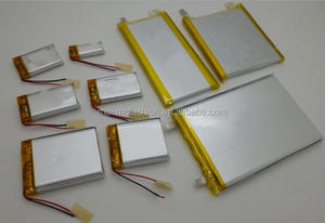 Hot sell 3.7v 1100mAh lithium polymer battery for Ebook /Ereading/GPS