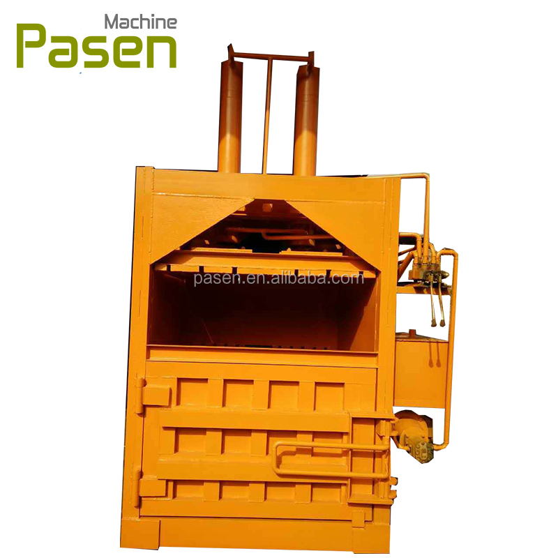 6 bags /H capacity baling machine for sale / used clothing baling machine / baling press machine