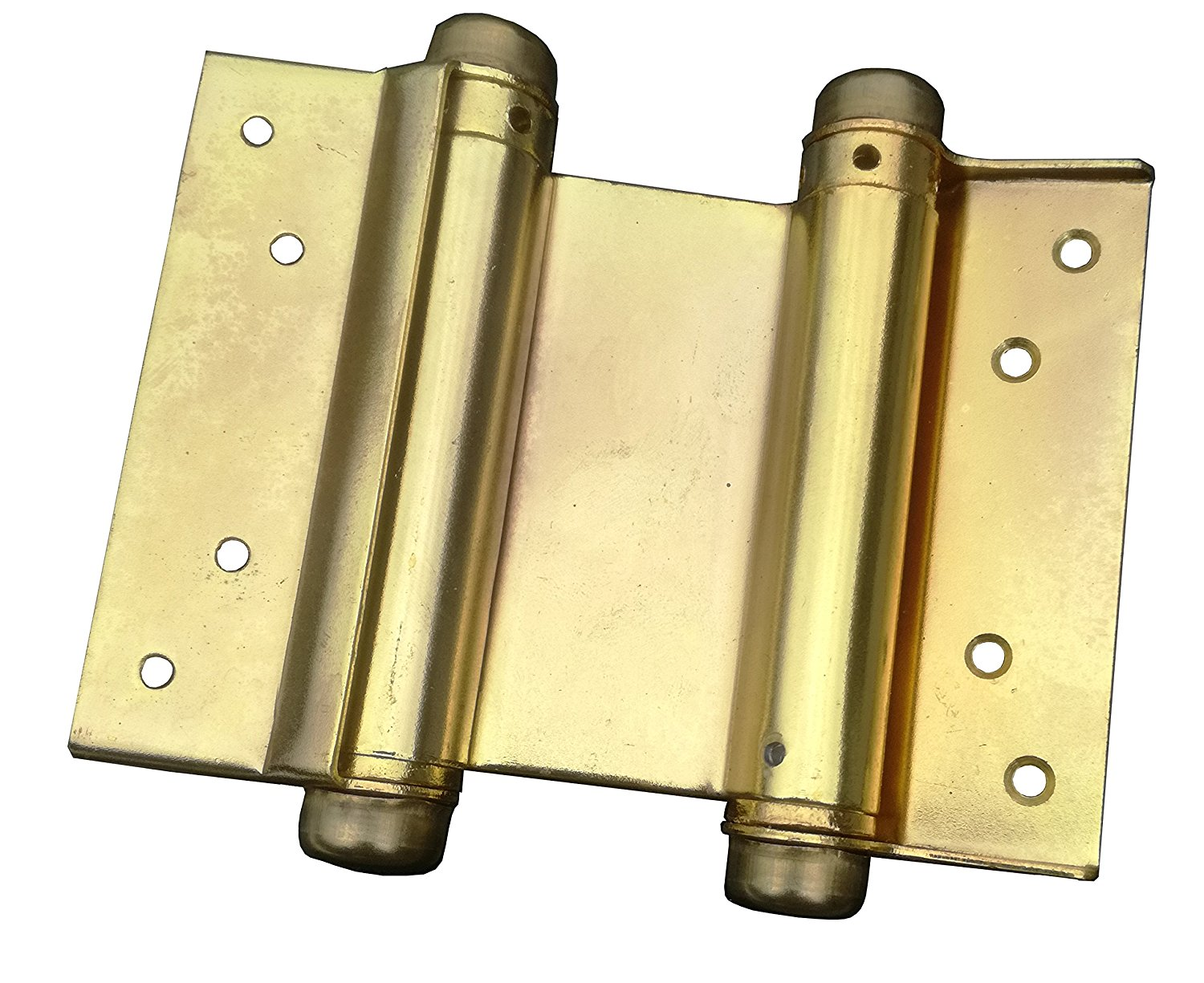 S Set Of 3 Hinges Satin Brass Parker Self Closing Slim Spring Hinges 4-1//2 X 4-1//2 For Medium And Heavyweight Metal Or Wood Doors In