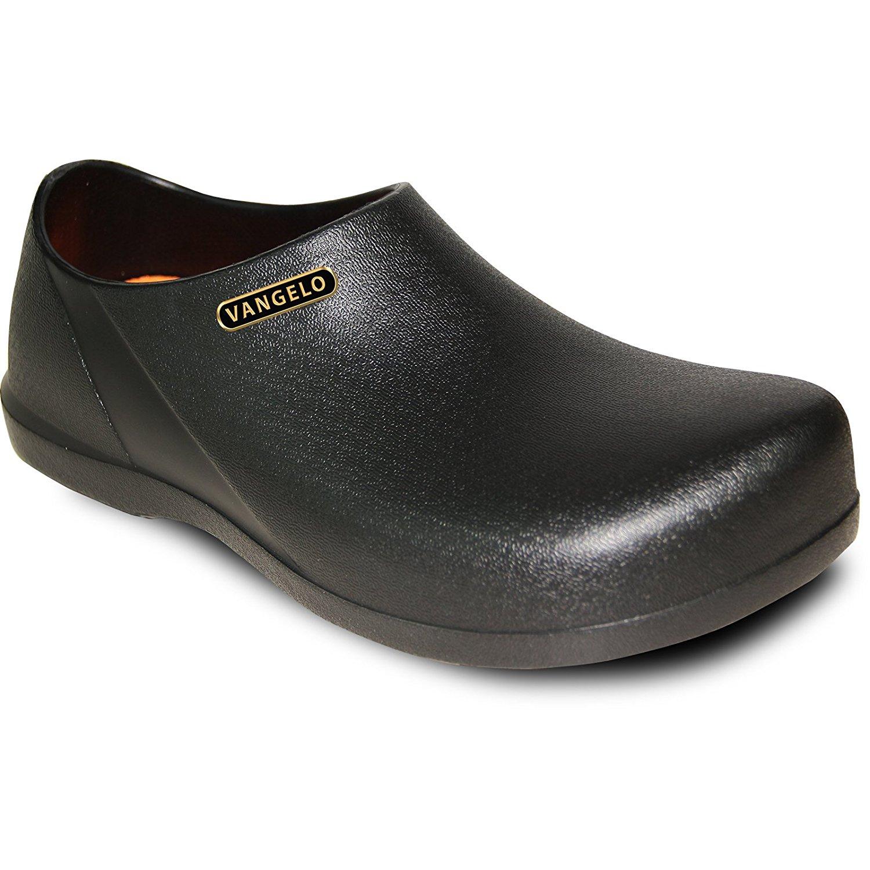 04f8a6052 Get Quotations · VANGELO Professional Slip Resistant Clog Unisex Work Shoe  Chef Shoe Nurse Shoe Carlisle