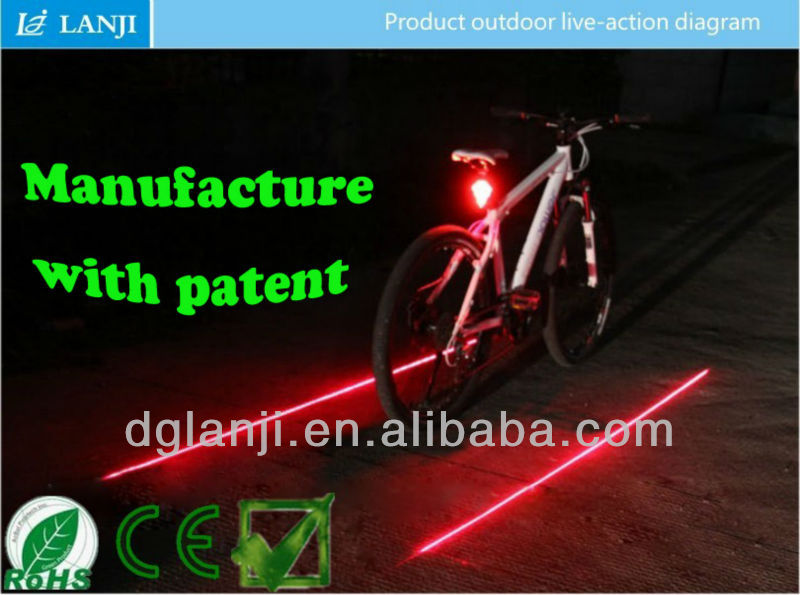good quality smart led light bicycle