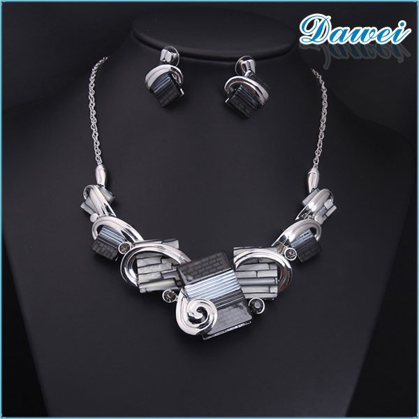 Alloy Main Material Fashion Women Accessories Best Price Charming Statement 2015 top new style beaded necklace