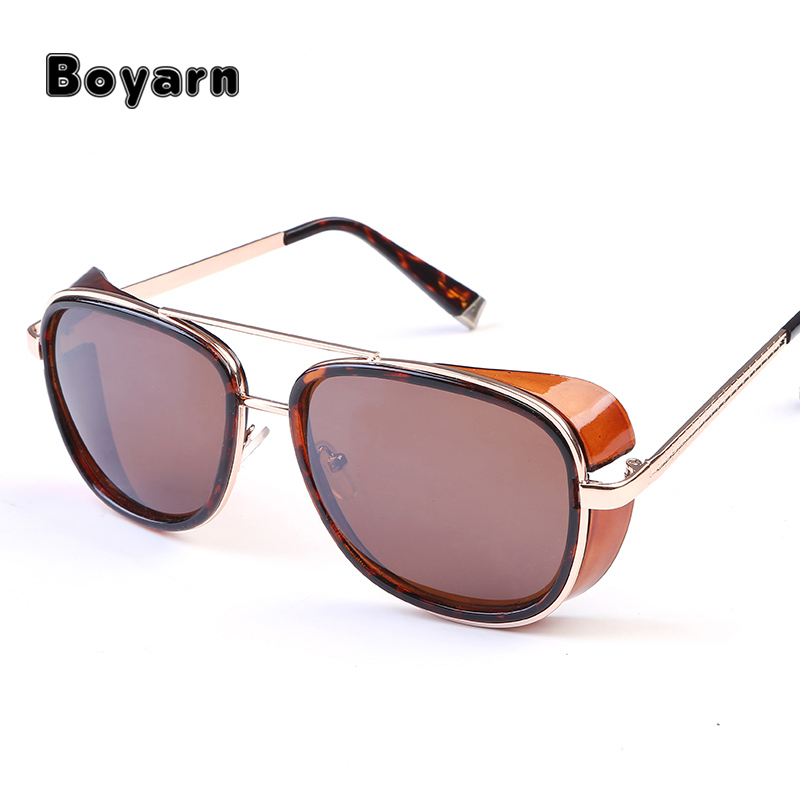 Gentleman optical Sunglasses Men Coating Sungalss Man Vintage Brand Designer custom logo Sun glasses