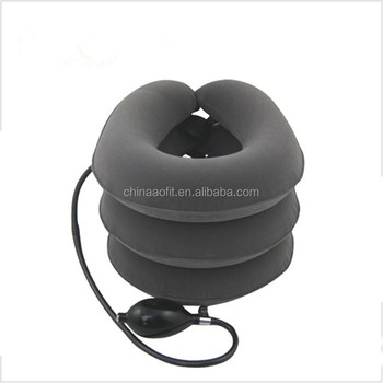 China Manufacturer Medical Equipment Relive Pain 3 Layers Air Neck Cervical Traction
