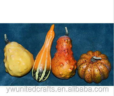 NICE LOT OF ARTIFICIAL FALL VEGETABLES! PUMPKINS, GOURDS, SQUASH