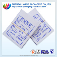 china wholesale laminated plastic/ white kraft paper medicine envelope medicine paper bag