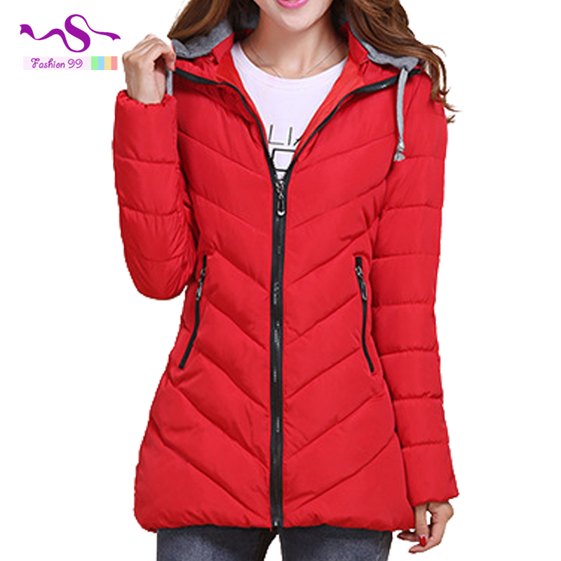 8 Colors Autumn and winter 2015 women parkas slim lapel collar zipper long female's cotton down jacket plus size YT55