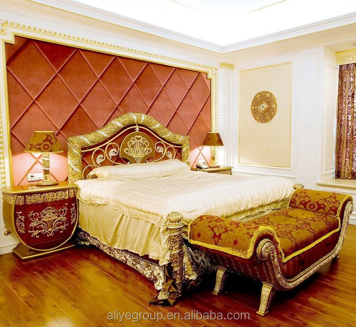 Aas41000-luxury Furniture Used French Bedroom Furniture Simple Double Bed  Design In Woods - Buy Simple Double Bed Design In Woods,French Bedroom ...