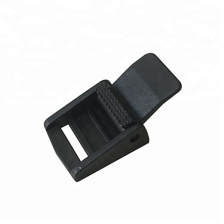 2018 Wholesale Adjustable Black Plastic Webbing Cam Buckle