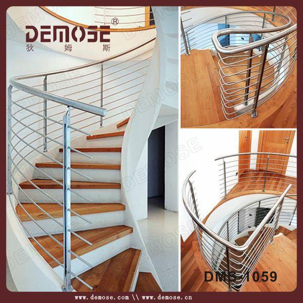 madera de acero escaleras de caracol para casas pequeas