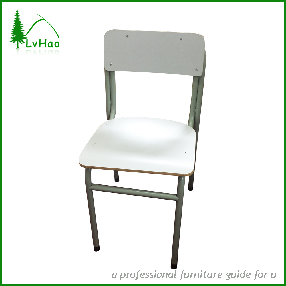 Common white class and school chair