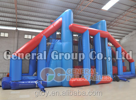 Multi Inflatable jumping and slide balance Sky swing sport game/toy equipment set for kids