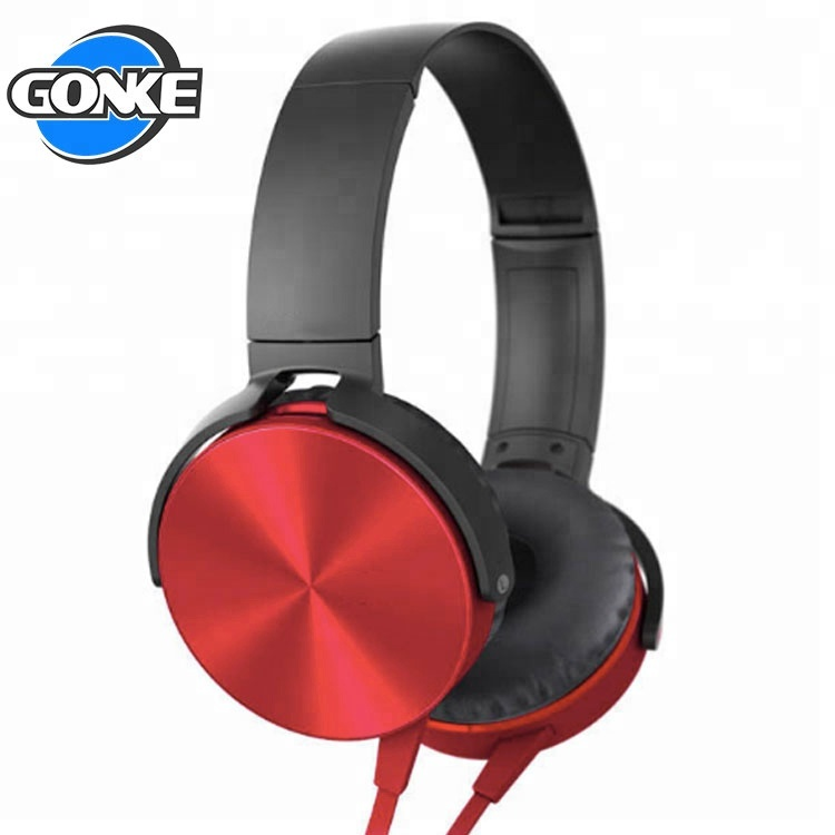 Factory directly game headphone gaming mic and volume control wired headset headphone