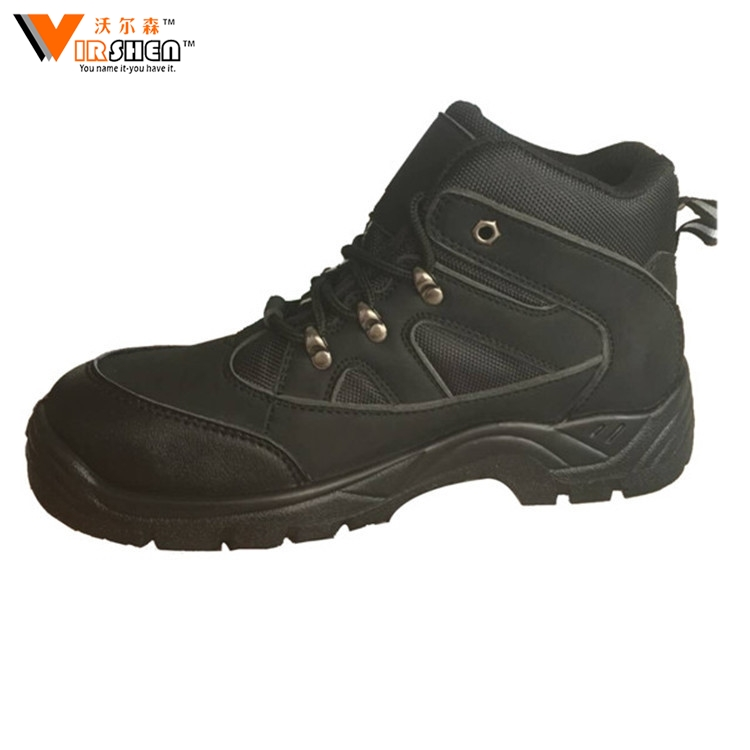 Men fashionable safty boots winter warm work shoes