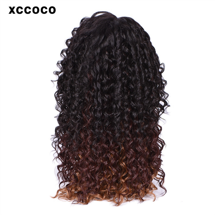 2016 New Fashion 100% Synthetic Women Curly full lace Wig