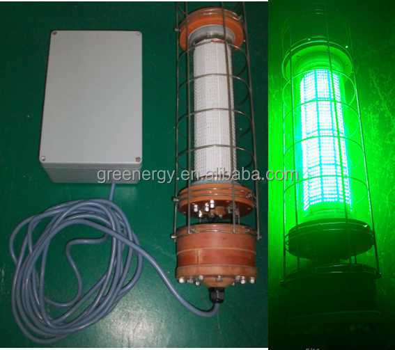 200w 300w 600w 800w 100w green or white color led fish attracting, Reel Combo