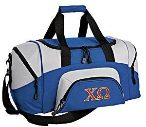 SMALL Chi Omega Travel Bag Chi O Gym Workout Bag