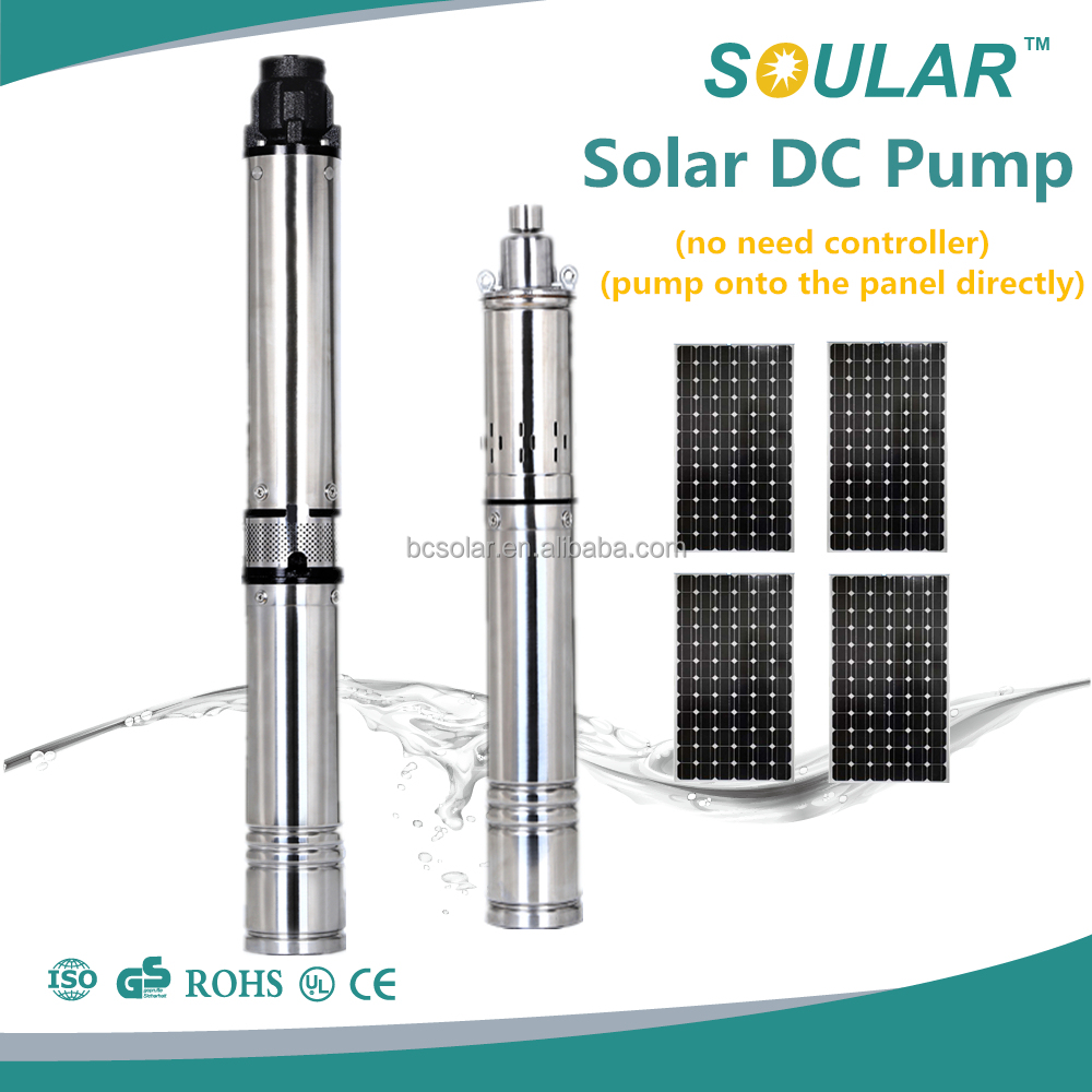 Low Price 24V DC Pump with Solar Power ( no need Controller )