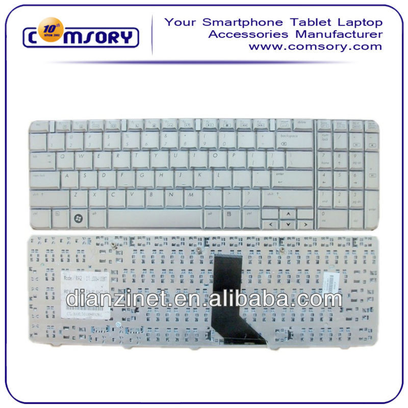 New For HP Keyboard Compaq Presario G60 CQ60 Laptop Keyboards Silver Color FR Layout