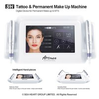 Artmex V8 7 inch glass touch screen MTS + PMU digital tattoo professional permanent makeup machine for eyebrow