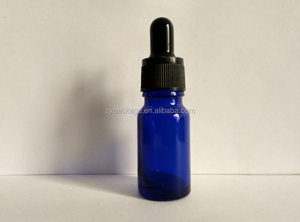 10ml 15ml glass dropper bottle for e liquid bottle can be with silk screen printing