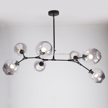 glass ball lighting. Modo Magic Bean DNA Bubble Clear Glass Ball Big Hanging Chandelier Pendant  Lamp Lighting