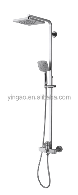 LY04S Hot Sale Three Way Bathtaub UPC Shower Faucet