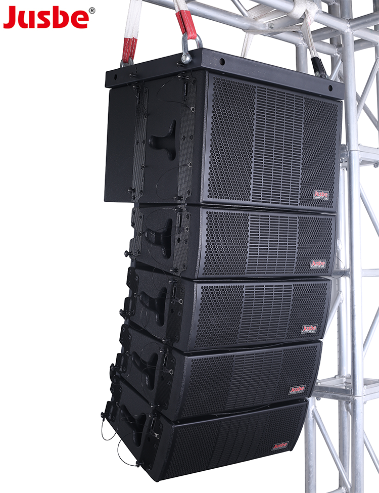 L-808 Pro Apparecchiature Audio Dj Outdoor Sistema Audio, Dual 8 Pollici Passivo Sistema di Altoparlanti Line Array