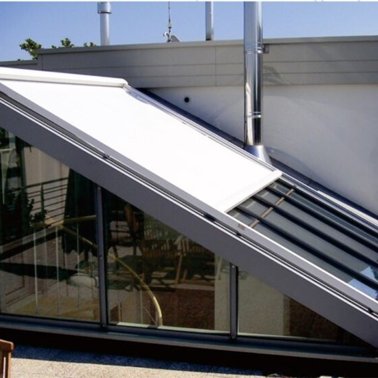Made in China acrylic fabric metal frame roof awning for sale
